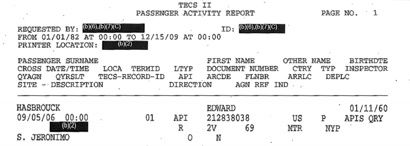 Papers, Please! � Blog Archive � Amtrak admits passenger profiling ...